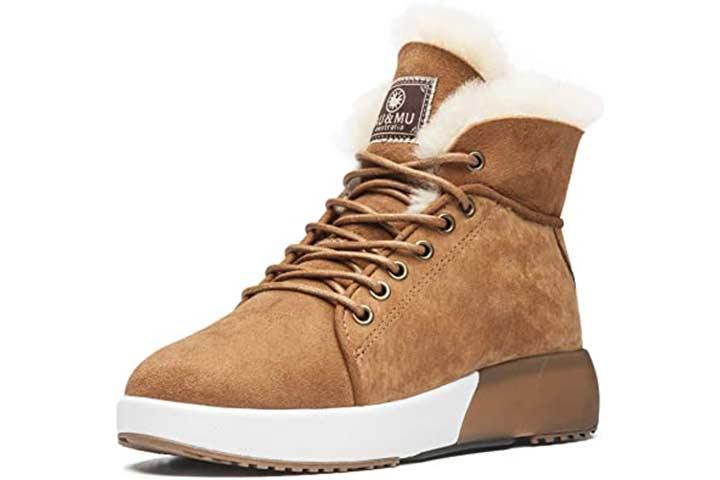 AU&MU Taurus Series Sheepskin Boots