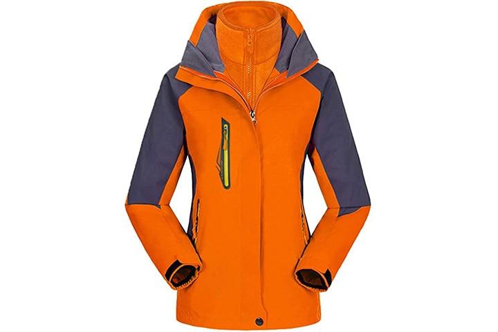 Abelway Women's 3-In-1 Mountain Jacket