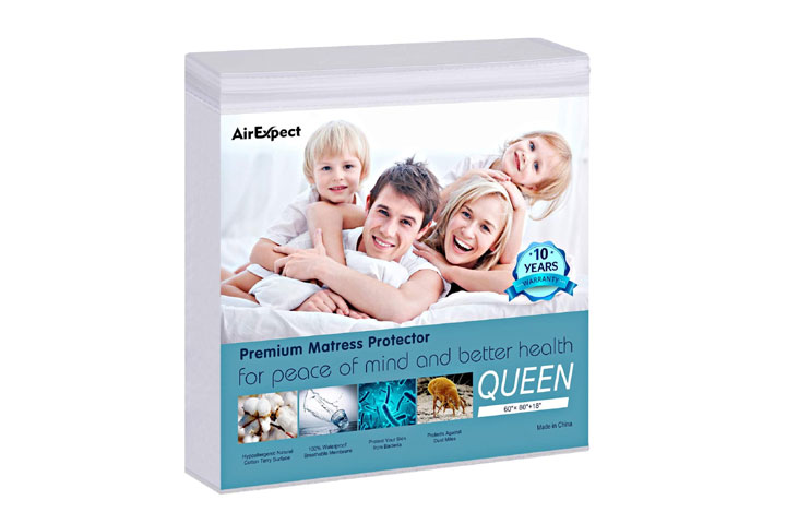 AirExpect Queen Size Mattress Protector
