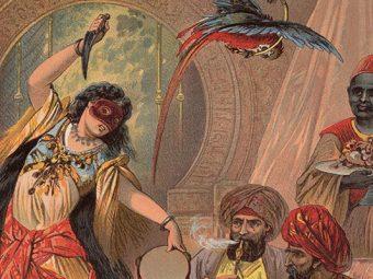 अलिफ लैला - तीन राजकुमारों और पांच सुंदरियों की कहानी