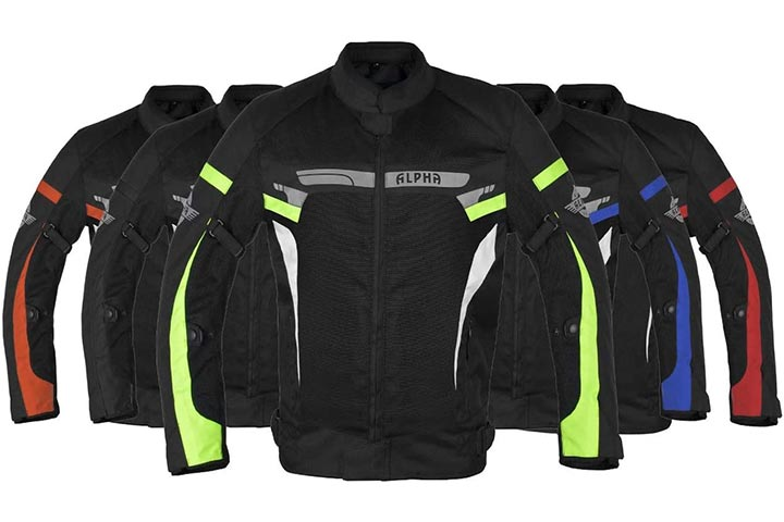 Alpha Cycle Gear Motorcycle Jacket