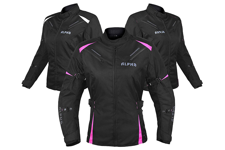 Alpha Cycle Gear Motorcycle Jacket