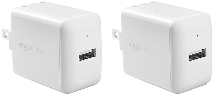 AmazonBasics One-Port USB Wall Charger