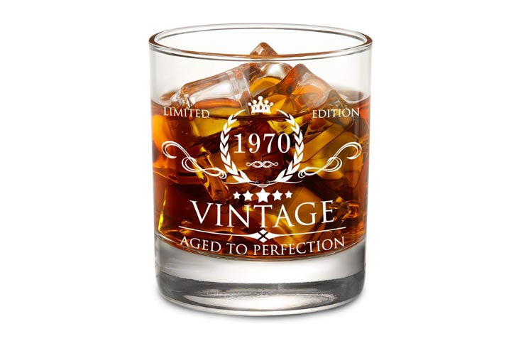 Aozita Vintage Whiskey Glass