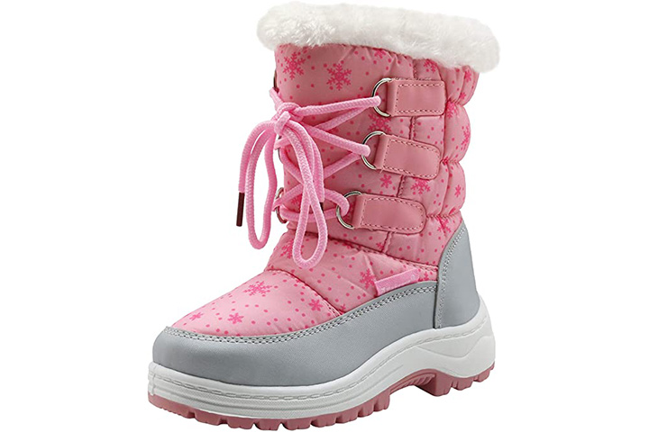 Apakowa Winter Snow Boots