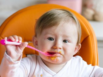 Baby Self Feeding: Cues, Age And Tips to Encourage It