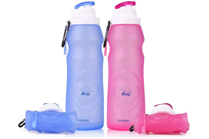 Baiji Silicone Water Bottle
