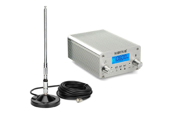 Baile 5W 15W PLL FM Transmitter Radio Stereo Station