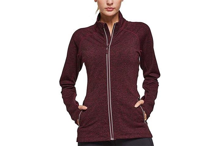 Baleaf Women's Fleece Bodyfit Jacket