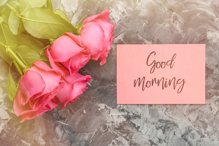 Beautiful And Romantic Good Morning Poems
