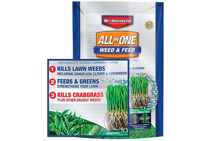 Bio Advanced Lawn Fertilizer and Weed Killer