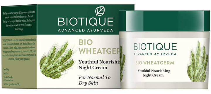 Biotique Wheatgerm Nourishing Night Cream