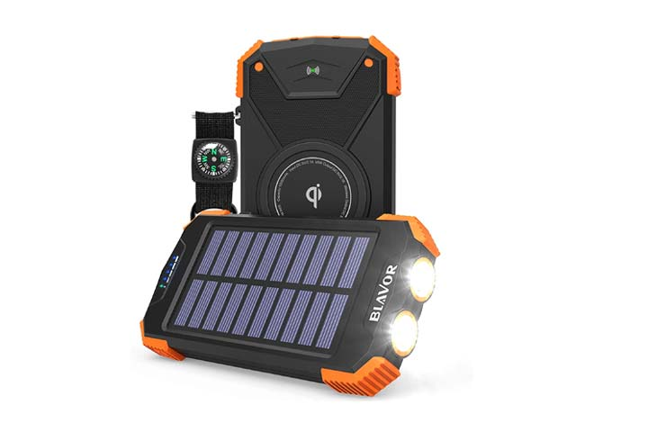 Blavor Qi Solar Power Bank