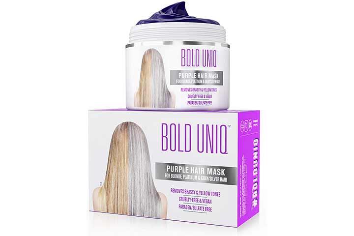 Bold Uniq Purple Hair Mask