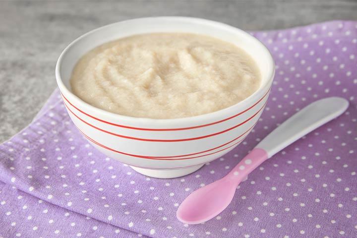 Breast milk porridge