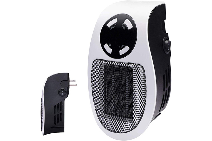 Brightown Handy Wall-Outlet Space Heater