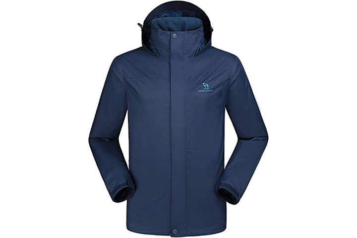 Camel Crown Men's Waterproof Jacket