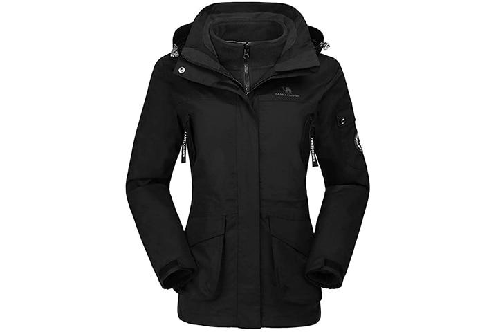 Camel Crown Waterproof Ski Jacket