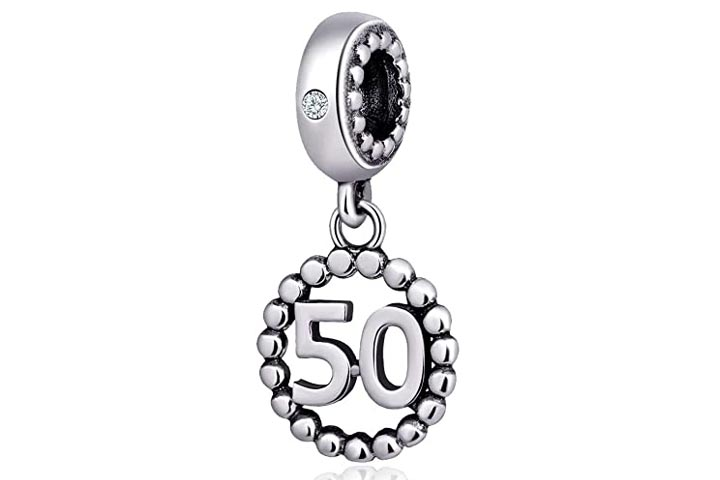 Chorus Love 50th Birthday Charm