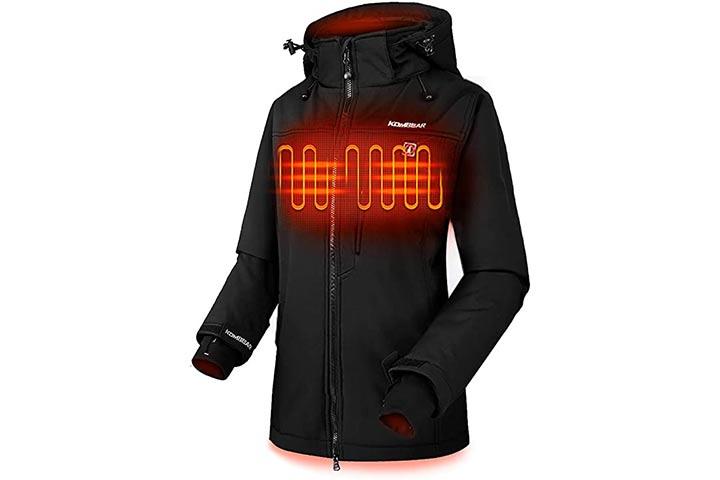 Climix Women's Lightweight Thickened Heated Jacket