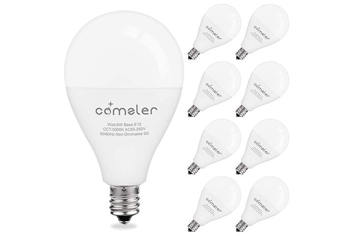 Comzler A15 Ceiling Fan Light Bulb