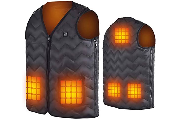 Coowoo Heated Sleeveless Jacket For Men And Women