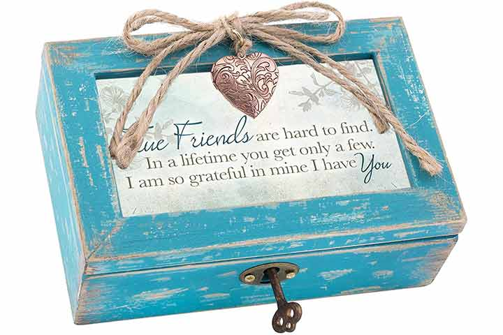 Cottage Garden Jewelry Music Box