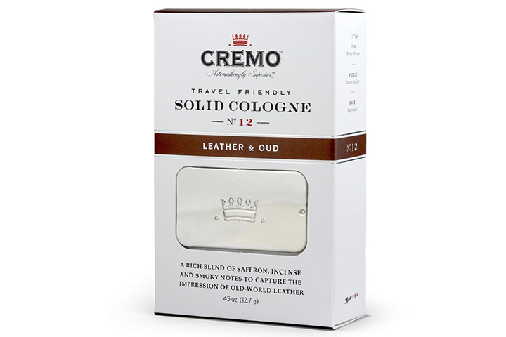Cremo Solid Cologne-Leather And Oud