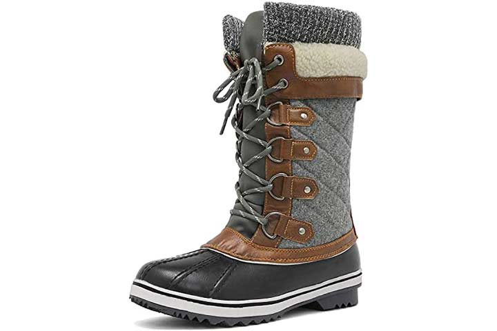 DreamPairs Women Snow Boots