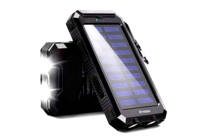 ERRBBIC Solar Power Bank