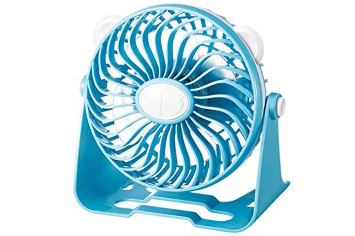 Evolt Rechargeable Table Fan