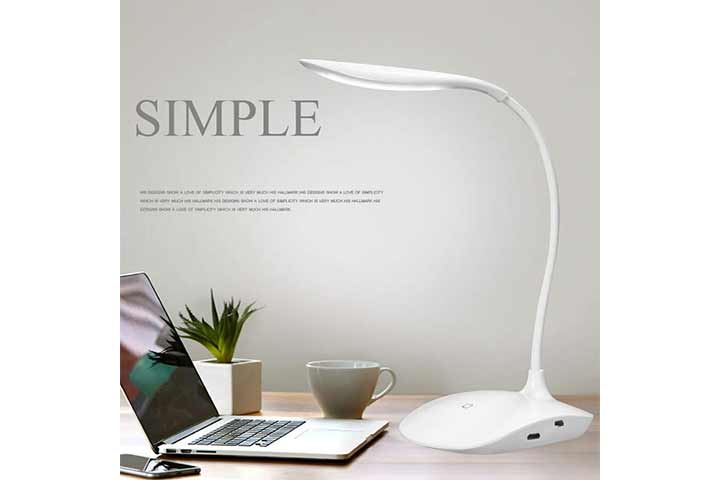 Figment Rechargeable LED Desk Lamp