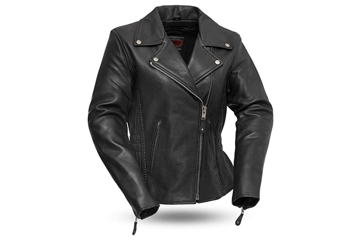 First MFG Co. Women's Motorcycle Jacket