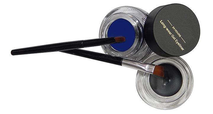 Firstzon Black And Blue Eyeliner