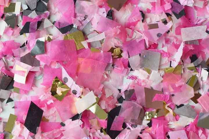Foil collage