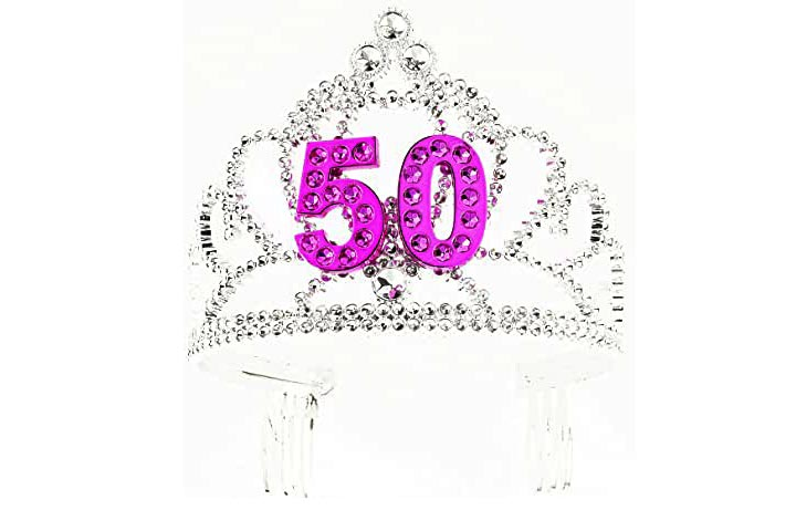 Forum Novelties Womens 50thPink Tiara