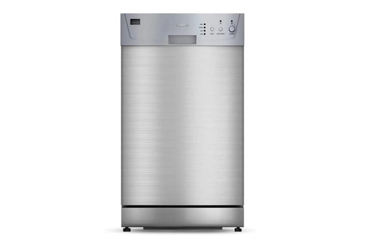 Furrion FDW18SAS-SS 18-inch Built-in RV Dishwasher