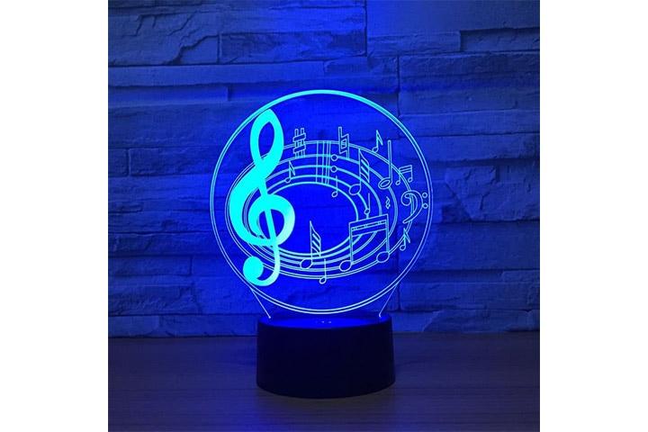 Fuxiao 3D Optical Illusion LED Lamp