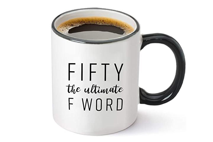 Gelid Fifty The Ultimate F Word Mug