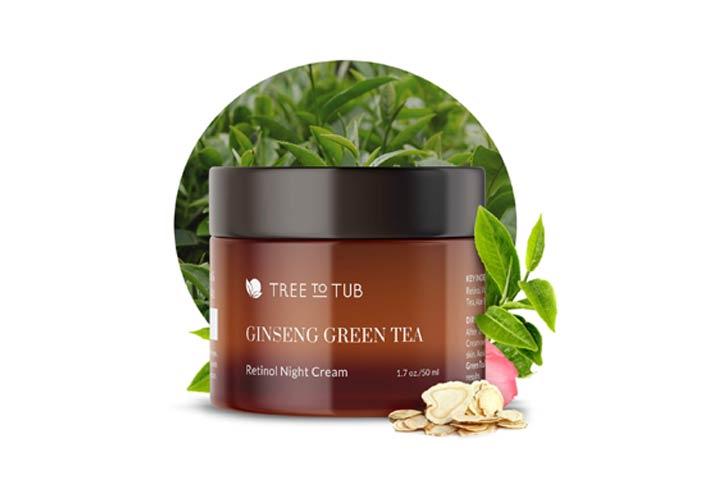 Ginseng Green Tea Anti-Aging Retinol Night Cream
