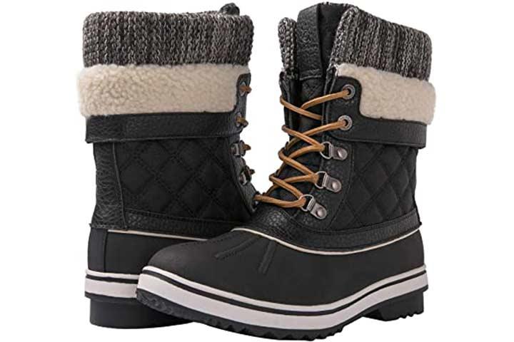 Globalwin Women's Winter Snow Boot