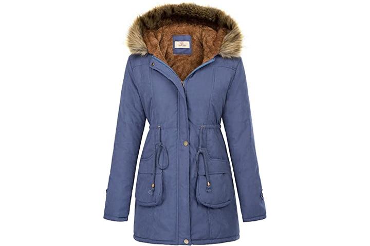 Grace Karin Parkas Long Coat