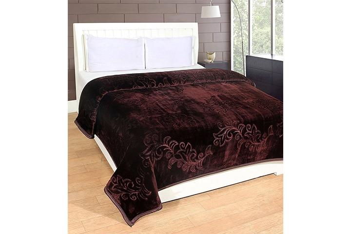 HOMECRUST Zara Ultra-Soft Blanket