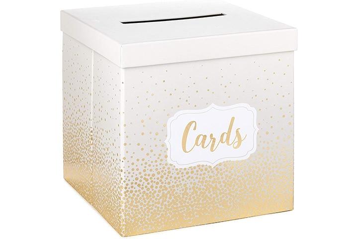 Hallmark Elegant Card Receiving Box