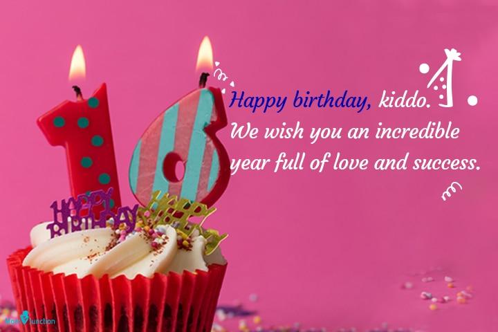 Happy birthday, kiddo
