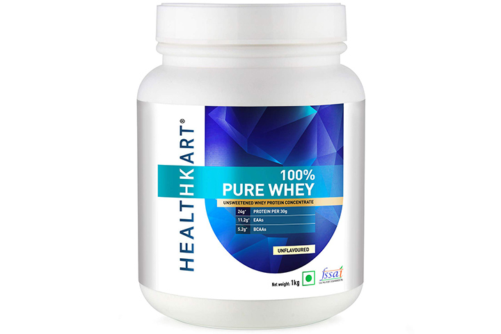 HealthKart Pure Raw Whey Protein Concentrate