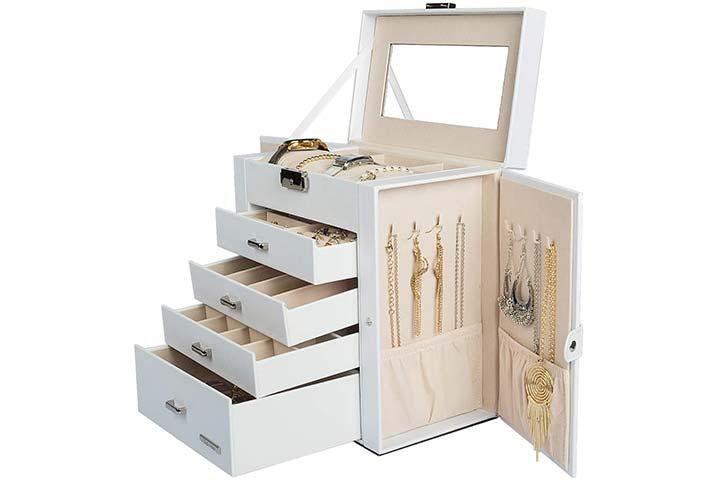Homde Jewelry and Watch Box