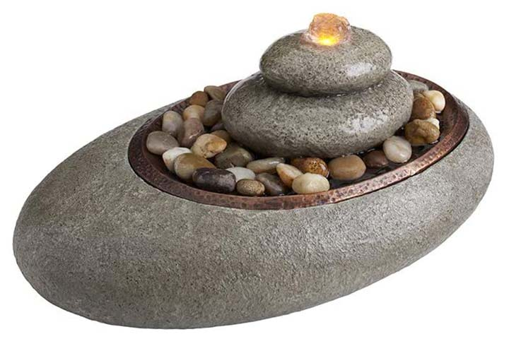 Homedics Oceanside Tabletop Relaxation Fountain