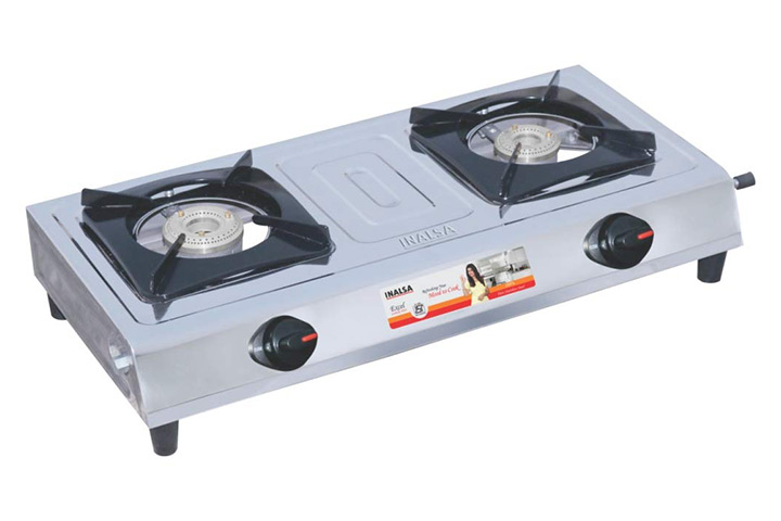 Inalsa Excel Stainless Steel Gas Stove