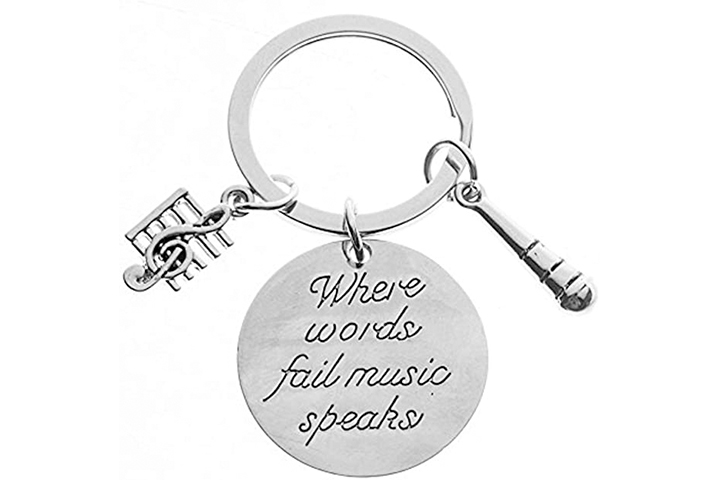Infinity Collection Music Keychain Gift